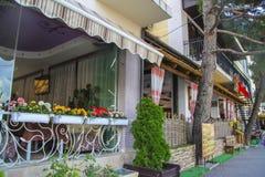 Various restaurants in Gelendzhik Royalty Free Stock Images