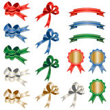 Various ribbon set Royalty Free Stock Image
