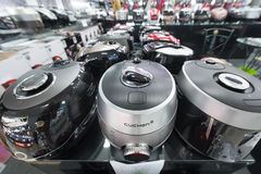 Various rice cookers for sale Royalty Free Stock Image