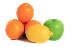 Various ripe fruits Stock Photos