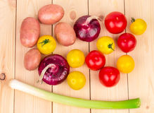 Various ripe vegetables Royalty Free Stock Photography