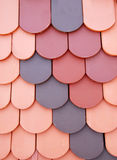 Various roof tiles royalty free stock photography