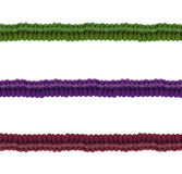 Various ropes on white background Stock Image