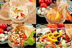Various salads Stock Photography