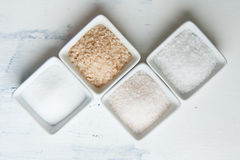 Various of salt Stock Image