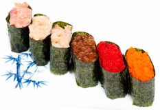 Various sashimi Stock Image