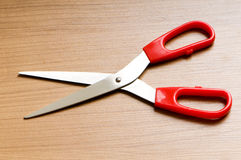 Various scissors on the  background Stock Photos