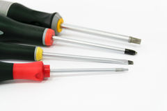 Various screwdriver Royalty Free Stock Image