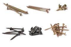 Various screws Royalty Free Stock Photos