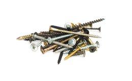 Various screws close-up Stock Image