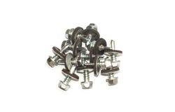 Various screws close-up 3 Royalty Free Stock Image