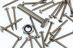 Various screws Stock Images