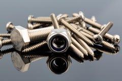 Various screws Royalty Free Stock Photo