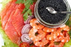 Various seafood Stock Photography