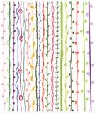 Various seamless design elements. An illustration of various seamless design elements Royalty Free Stock Image