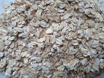 Various seeds. Picturesquely laid out on the table in a different order flakes. royalty free stock photos