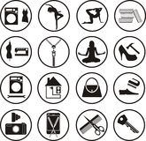 Various services Royalty Free Stock Image