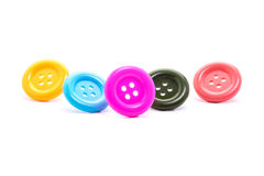 Various sewing button Royalty Free Stock Photo
