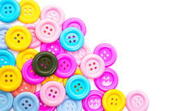Various sewing button Stock Image