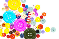 Various sewing button Royalty Free Stock Photos