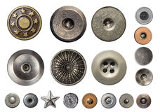 Various sewing buttons Stock Image