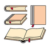 Various Shapes Of Books royalty free illustration