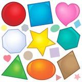 Various shapes theme image 2 Royalty Free Stock Photo