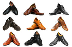 Various shoes Stock Photography