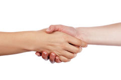 Various signs hands and palms Royalty Free Stock Images