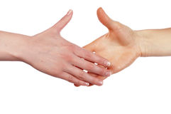 Various signs hands and palms Stock Photography