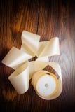 Various silk ribbons Royalty Free Stock Image