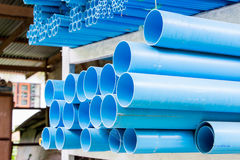 Various size of pvc pipes. Size of pvc pipes, Multi size Royalty Free Stock Images