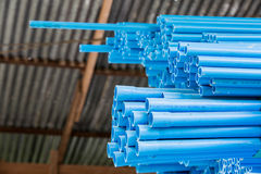 Various size of pvc pipes Royalty Free Stock Images