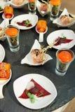 Various snacks Stock Photo
