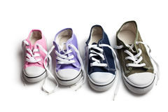 Various sneakers Royalty Free Stock Photography