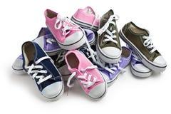 Various sneakers Stock Image