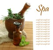 Various spa and aromatherapy Royalty Free Stock Photos