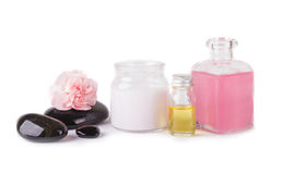 Various spa items Stock Images