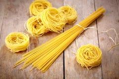 Various spaghetti Stock Images