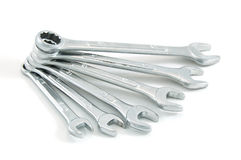 Various spanners Royalty Free Stock Photos