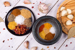 Various spices Stock Photography