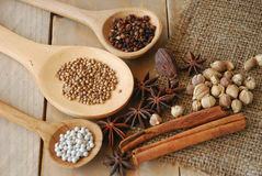 Various spices for chinese food boiled Stock Photography