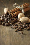 Various spices Royalty Free Stock Images