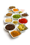 Various spices and herbs. Stock Photos