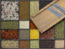 Various spices Royalty Free Stock Photography