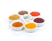 Various spices selection Royalty Free Stock Photography