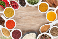 Various spices selection Royalty Free Stock Images