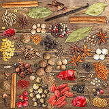 Various spices Stock Photos
