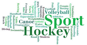Various sport info-text graphics Royalty Free Stock Images