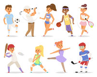 Various sports people. Stock Photography